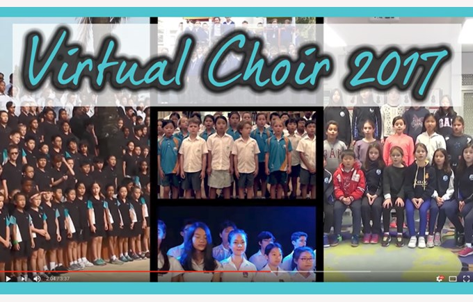 NAE Virtual Choir 2017