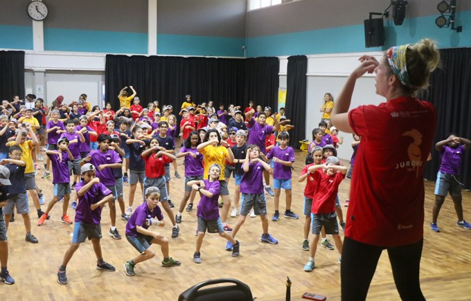 Dover Court International School Singapore, House Dance Day