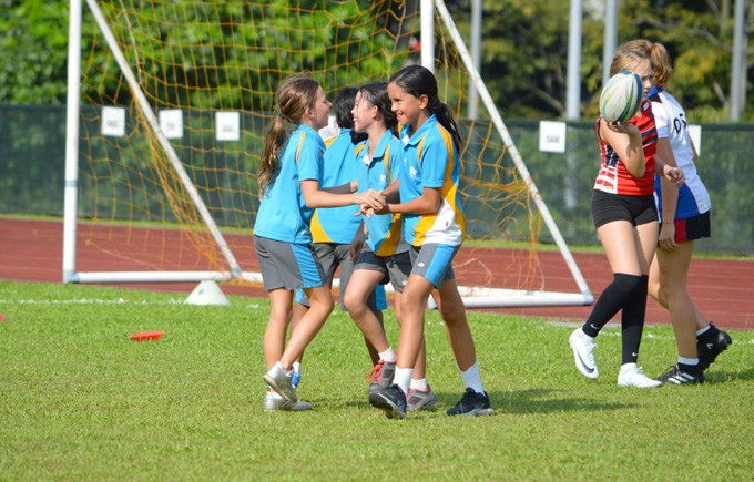 DCIS Under 11 Girls Rugby Team Finals