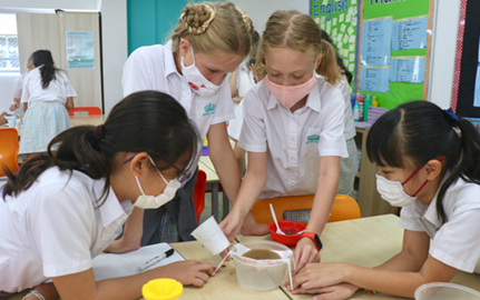 Dover Court International School Singapore, DCIS Mission Moxie MIT Nord Anglia Education STEAM Link