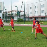 British International School Hanoi grass field