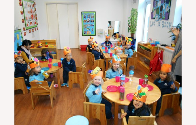 Thanksgiving in Pre Nursery