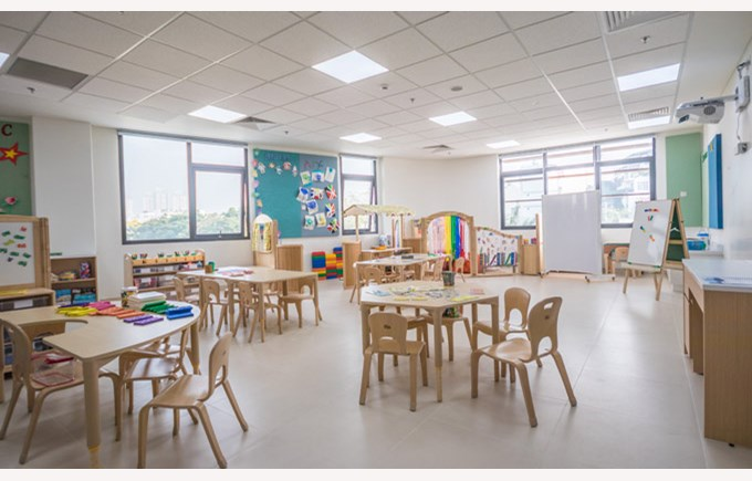 Early Years and Infant Campus Classroom