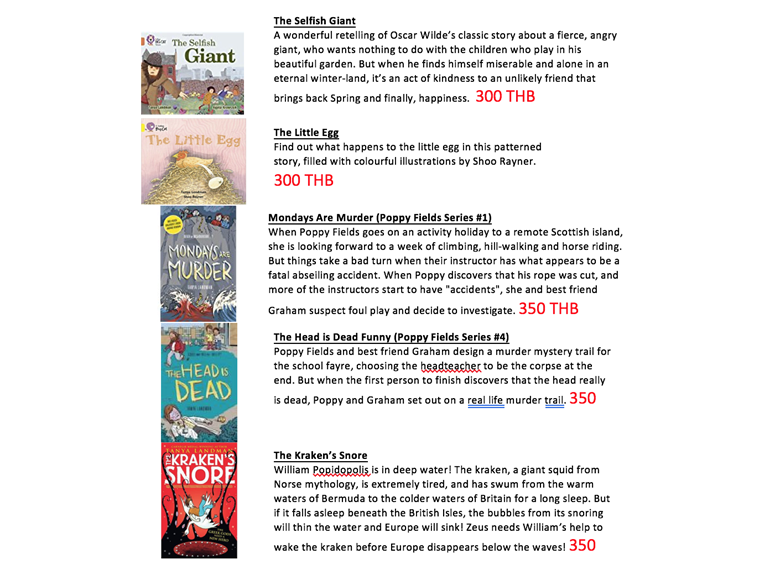 Book Week Prices