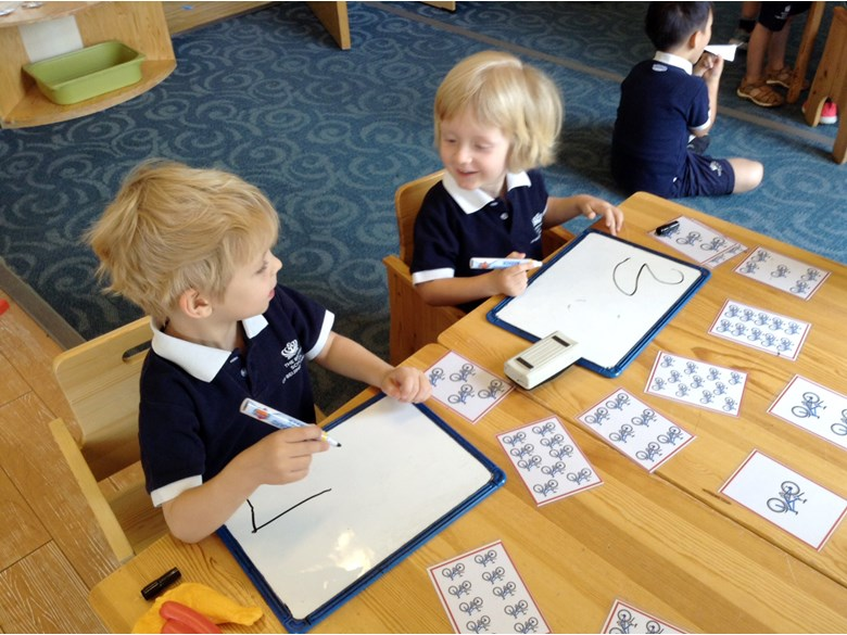 Nursery maths week