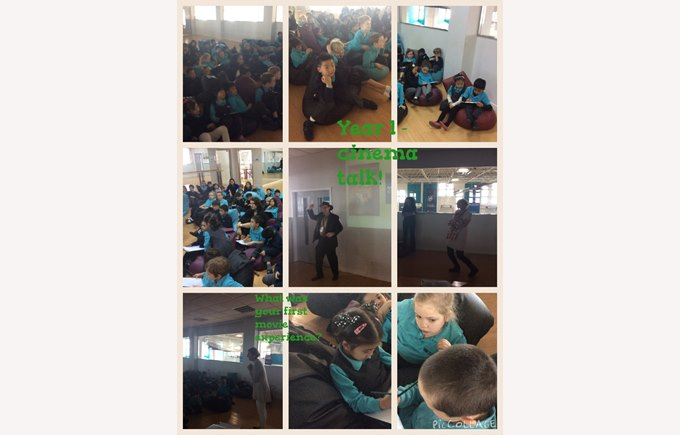 Cinema fun in Year 1
