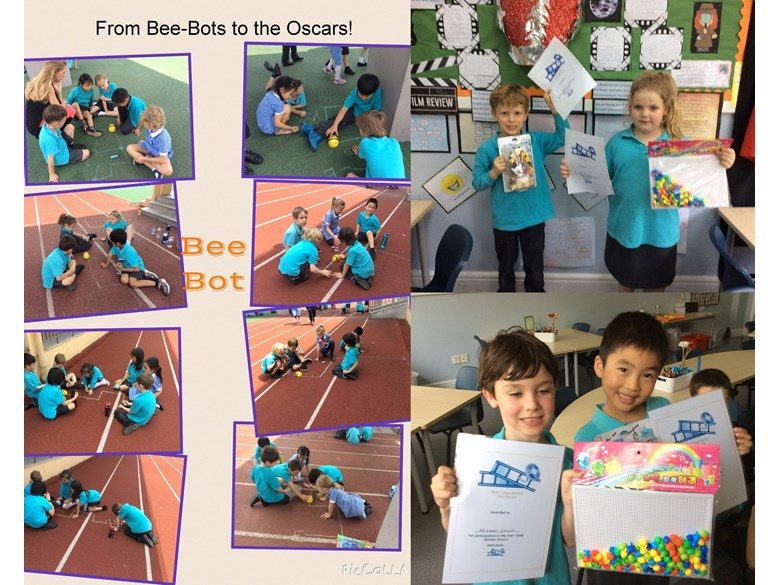 From BeeBots to the Oscars in Year 1