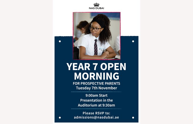 Year 7 Open Morning