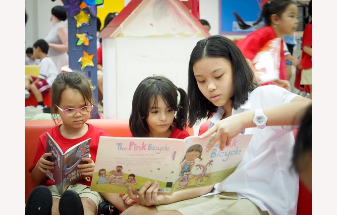 British International School Hanoi Secondary Book Week