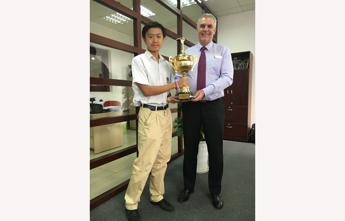 British International School Hanoi golf tournament russia