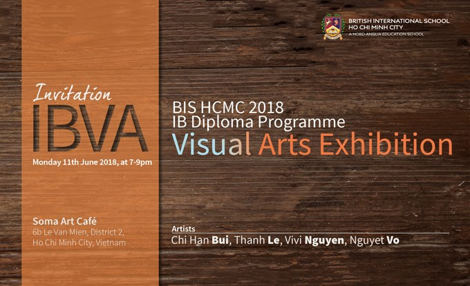 IB Visual Arts Exhibition 2018