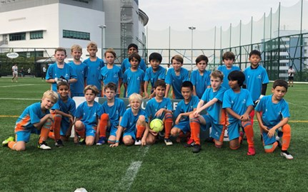 Dover Court International School Under 9 Boys Football Finals
