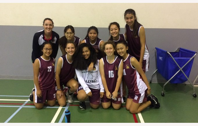 U19A Girls Volleyball vs AIS