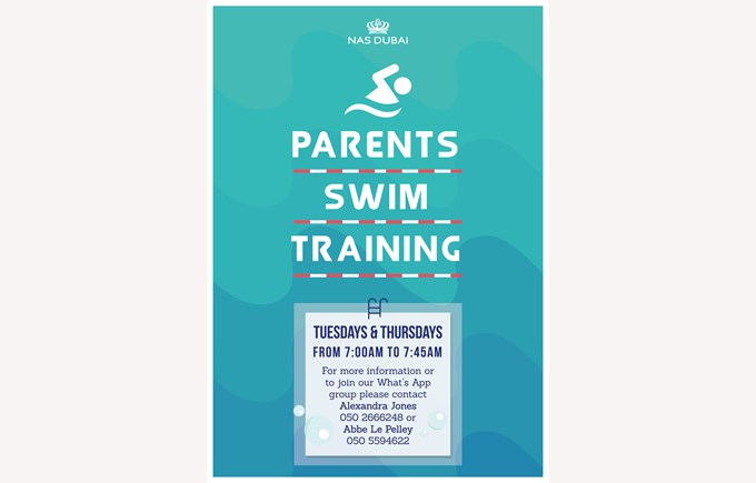 Parents Swim Training