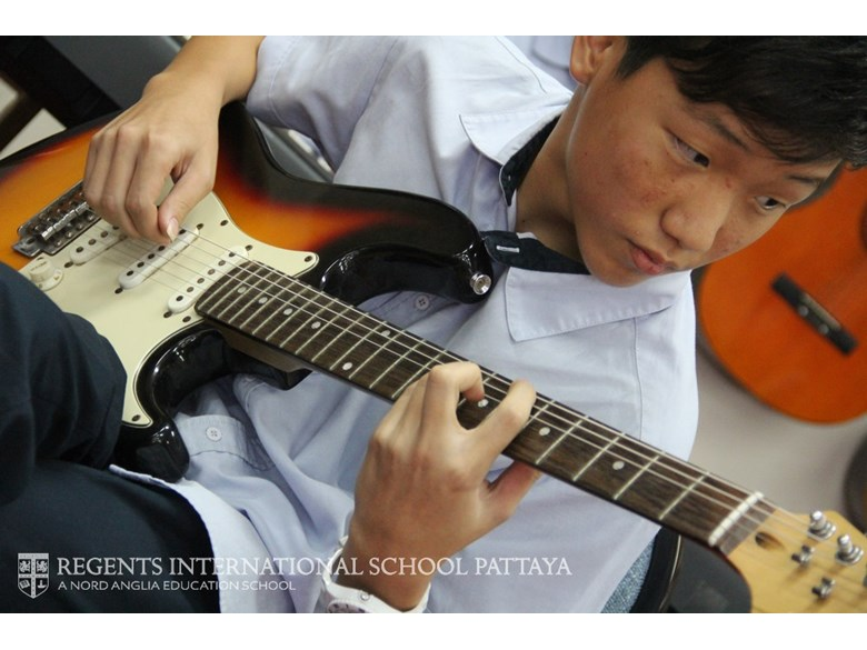 Guitar Player Secondary - Regents International School Pattaya