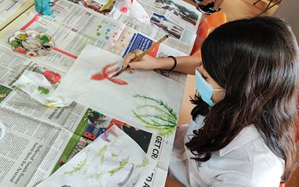 Year 10 Chinese Brush Painting Workshop