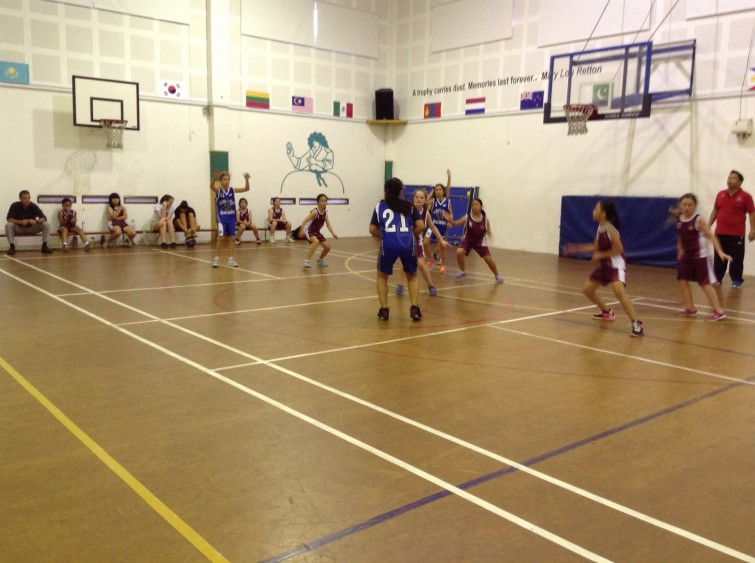 An Phu Primary Basketball Fixture Against ISHCMC