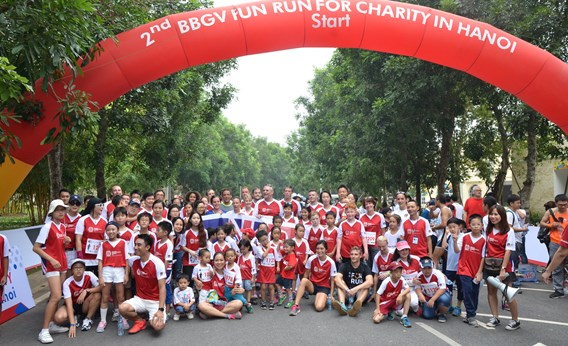 3rd BBGV Fun Run British International School Hanoi