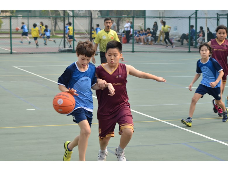 British International School Hanoi HAC basketball tournament