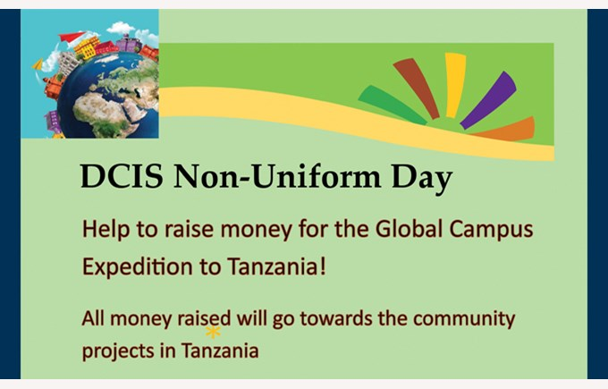 Tanzania Non Uniform Day 2016