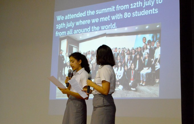 Secondary Assembly: UN Global Summit and Switzerland Expedition