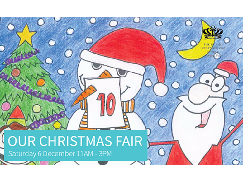 BISS Puxi Christmas Fair 2014