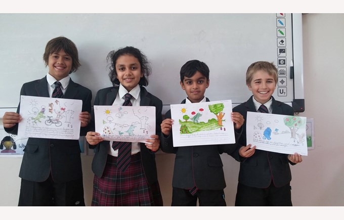 Year 3 drawings