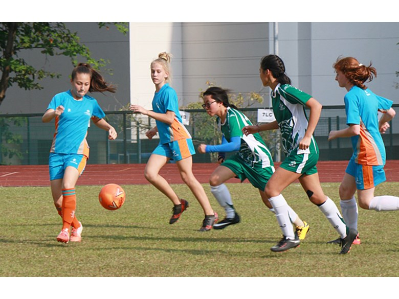 U16 Girls Football vs SJII