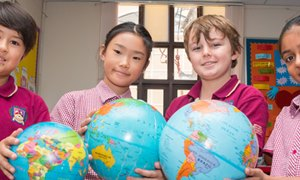International Students from An Phu Primary Campus at BIS HCMC