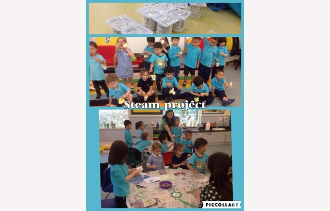 STEAM Day in Pre-Nursery 2