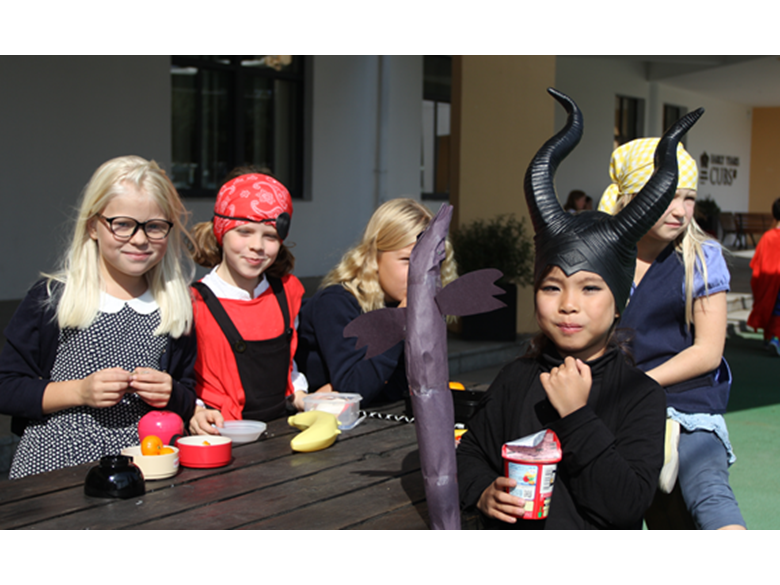Book Week in primary at the British International School Shanghai, Puxi
