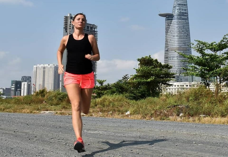 Naomi Skinner Run for Charity BVIS HCMC