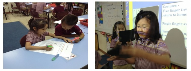 ICT in Year 3 - 4