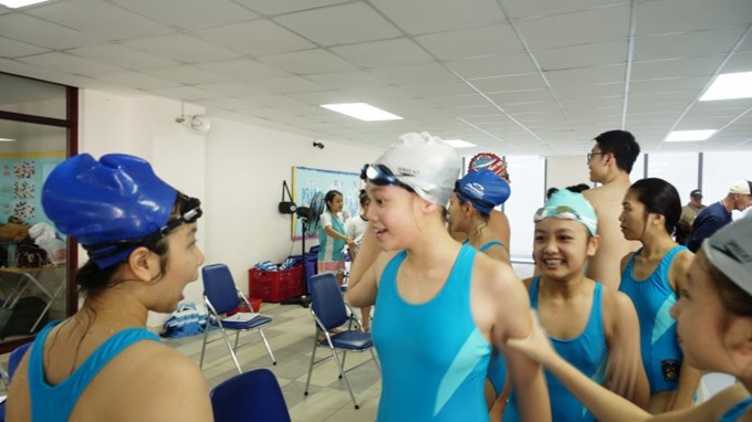 BVIS Won Swimming City Championships