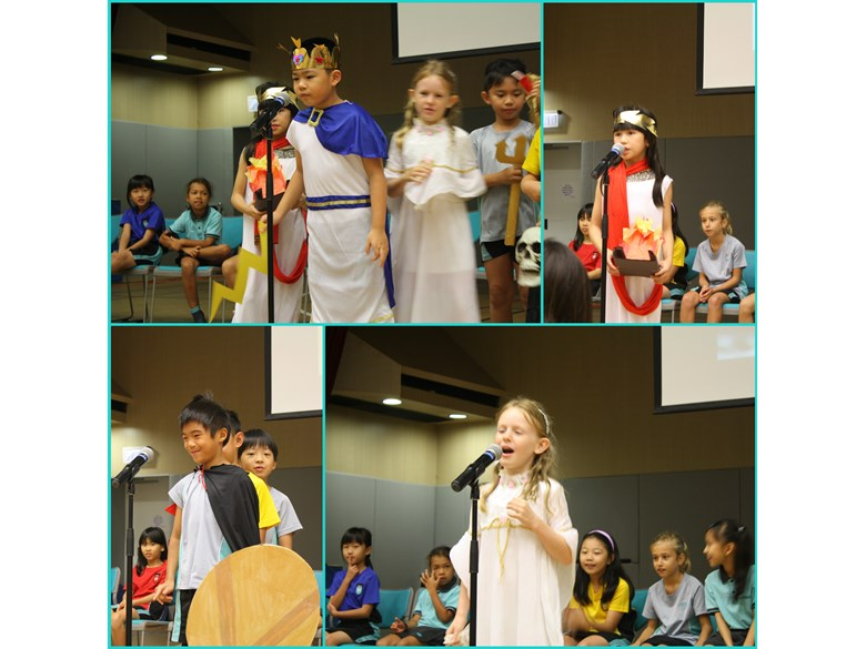 3D assembly - all things Greek.