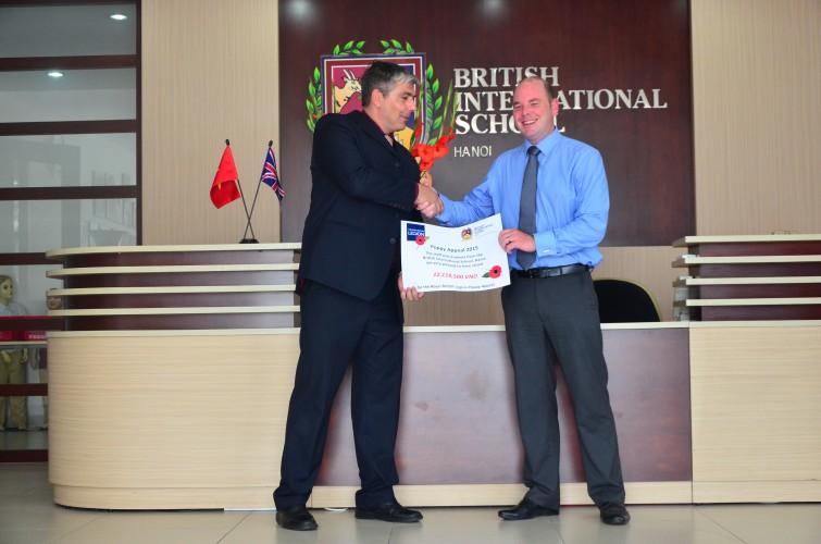 poppy appeal British International School Hanoi
