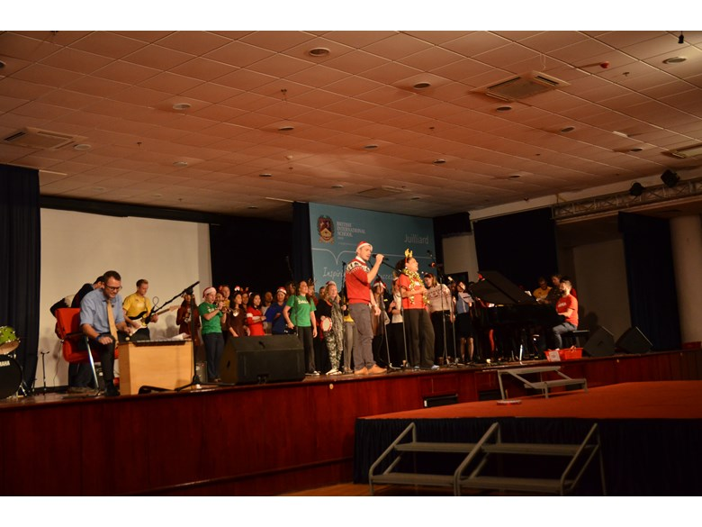 British International School Hanoi Assembly
