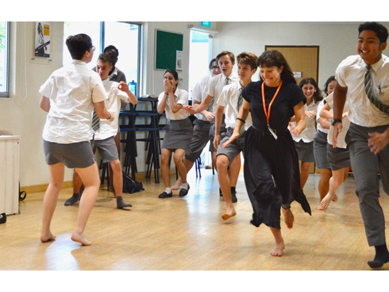 Dover Court International School Singapore Drama workshop Jasmin Colangelo
