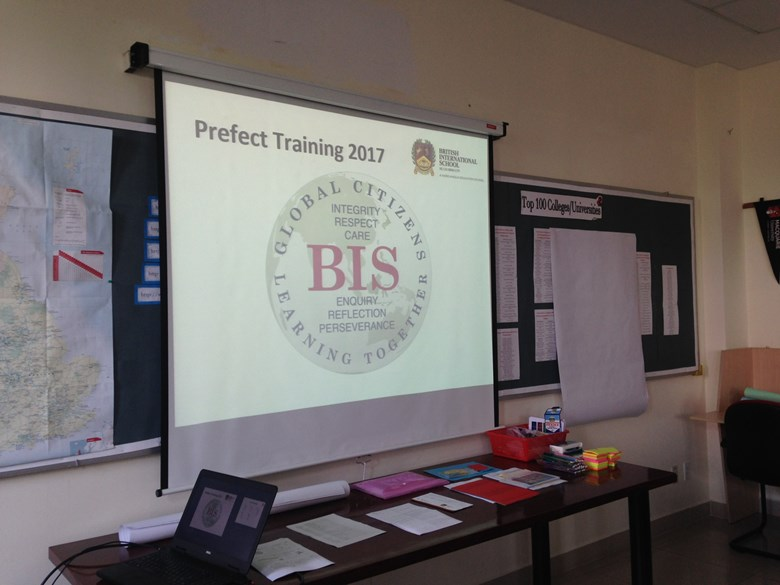 BIS HCMC Prefect Training 2017 1