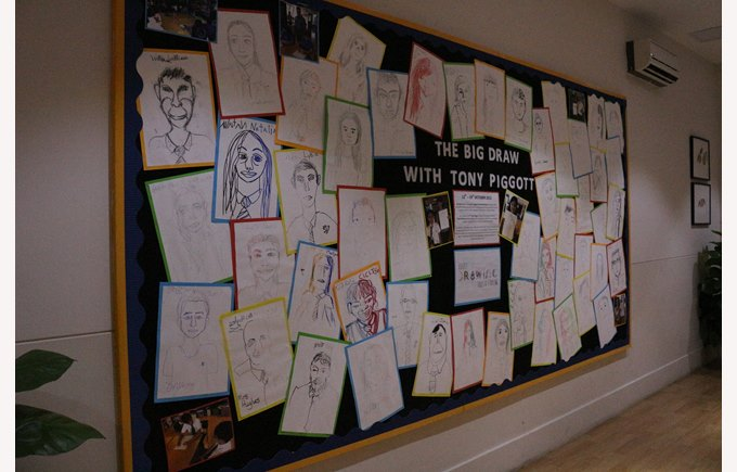 British School Big Draw 2015