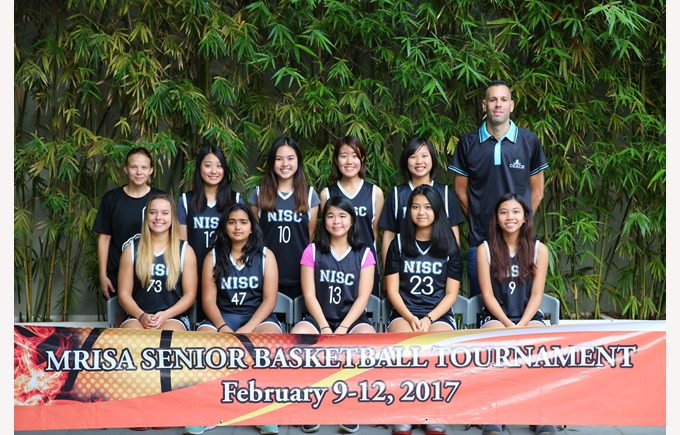 Senior Girls Basketball Team