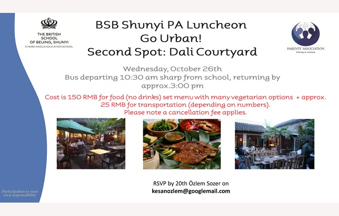 PA luncheon Oct