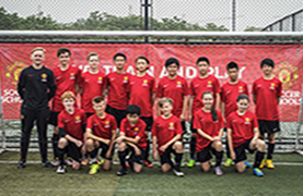 Manchester United Soccer School Group