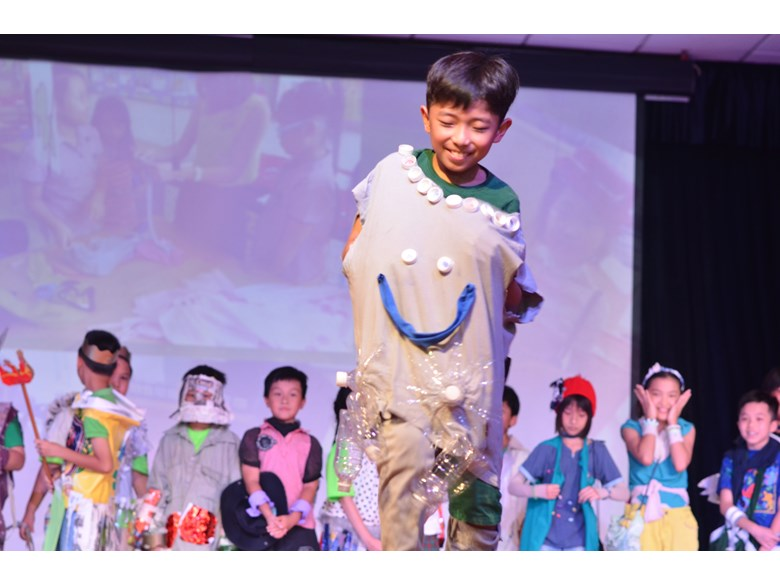 British International School Hanoi Green Fashion Show