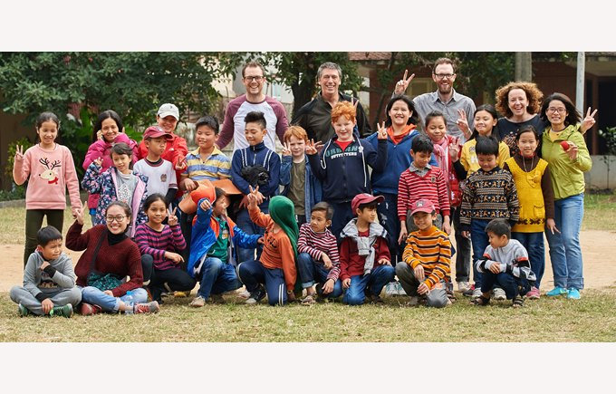 British International School Hanoi community service SOS Village