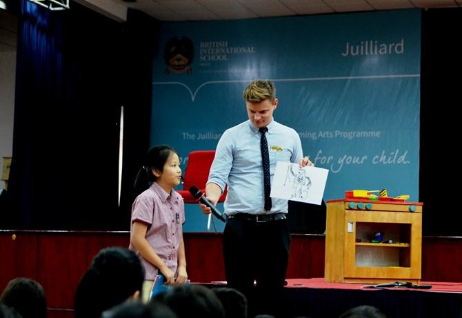 British International School Hanoi in STEAM Powered Big Draw