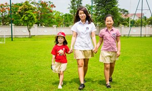 British International School Hanoi students