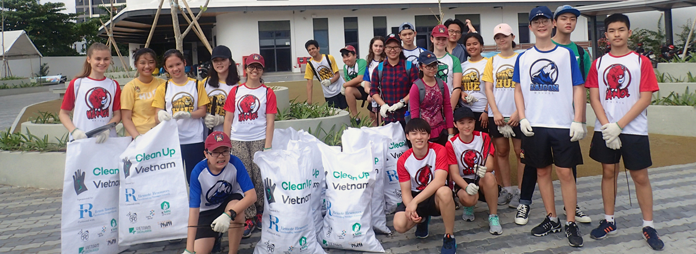 World Clean Up Day  | BIS HCMC