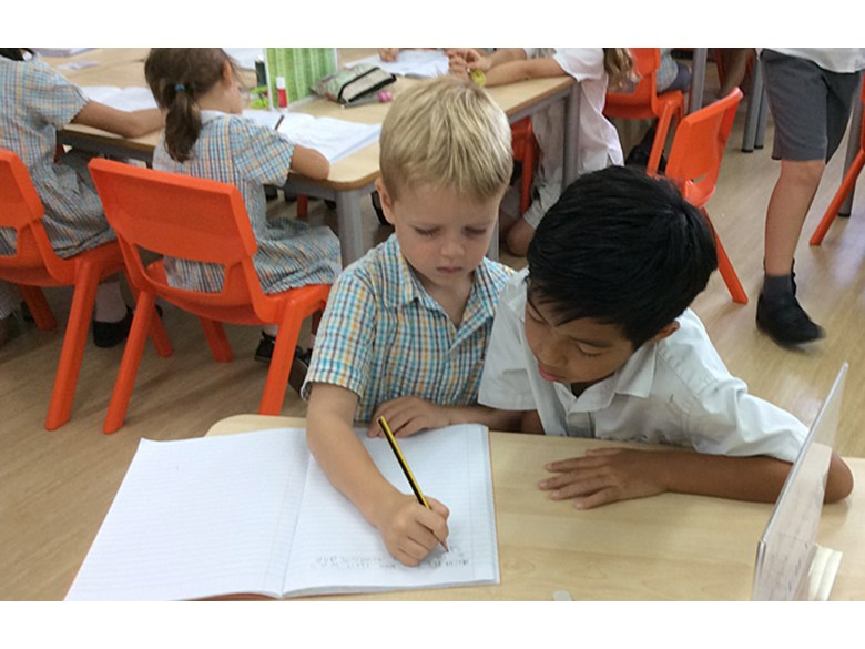 Year 6 and Year 2 Writing