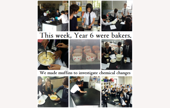 Year 6 as Bakers